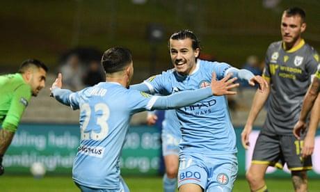 Melbourne City beat Macarthur to book A-League grand final against Sydney FC