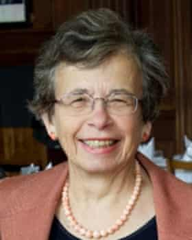 Miriam Griffin, a classicist and tutor at the University of Oxford.