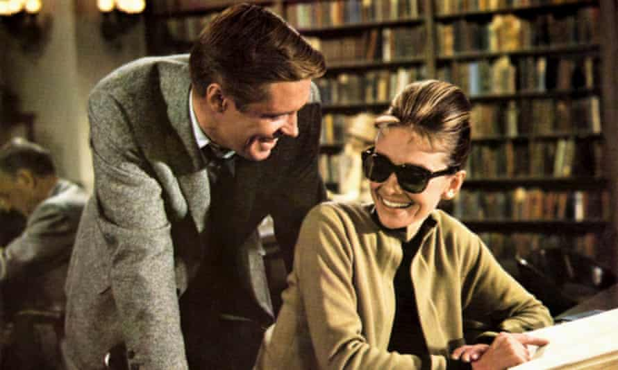 By the book: George Peppard and Audrey Hepburn star in Breakfast at Tiffany's, 1961.