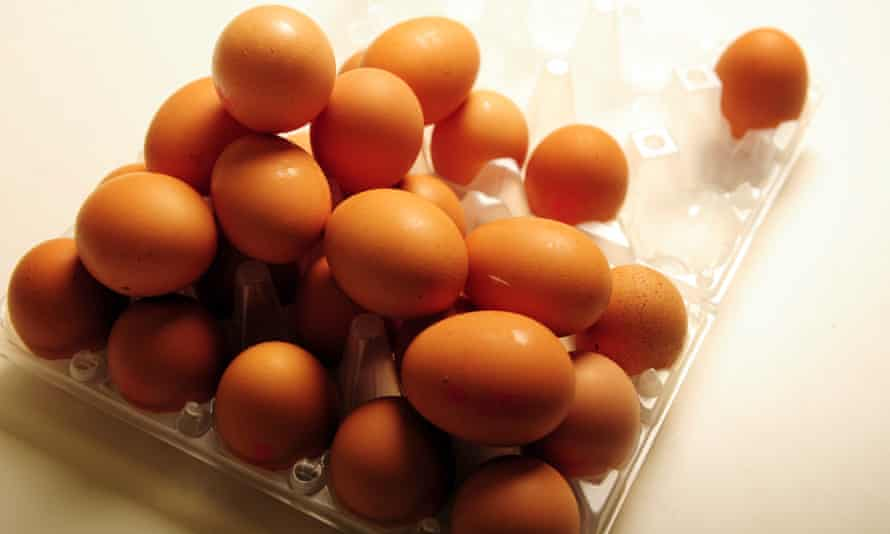Wholesale chicken egg prices recorded the largest increase since the government began tracking the costs in 1937.