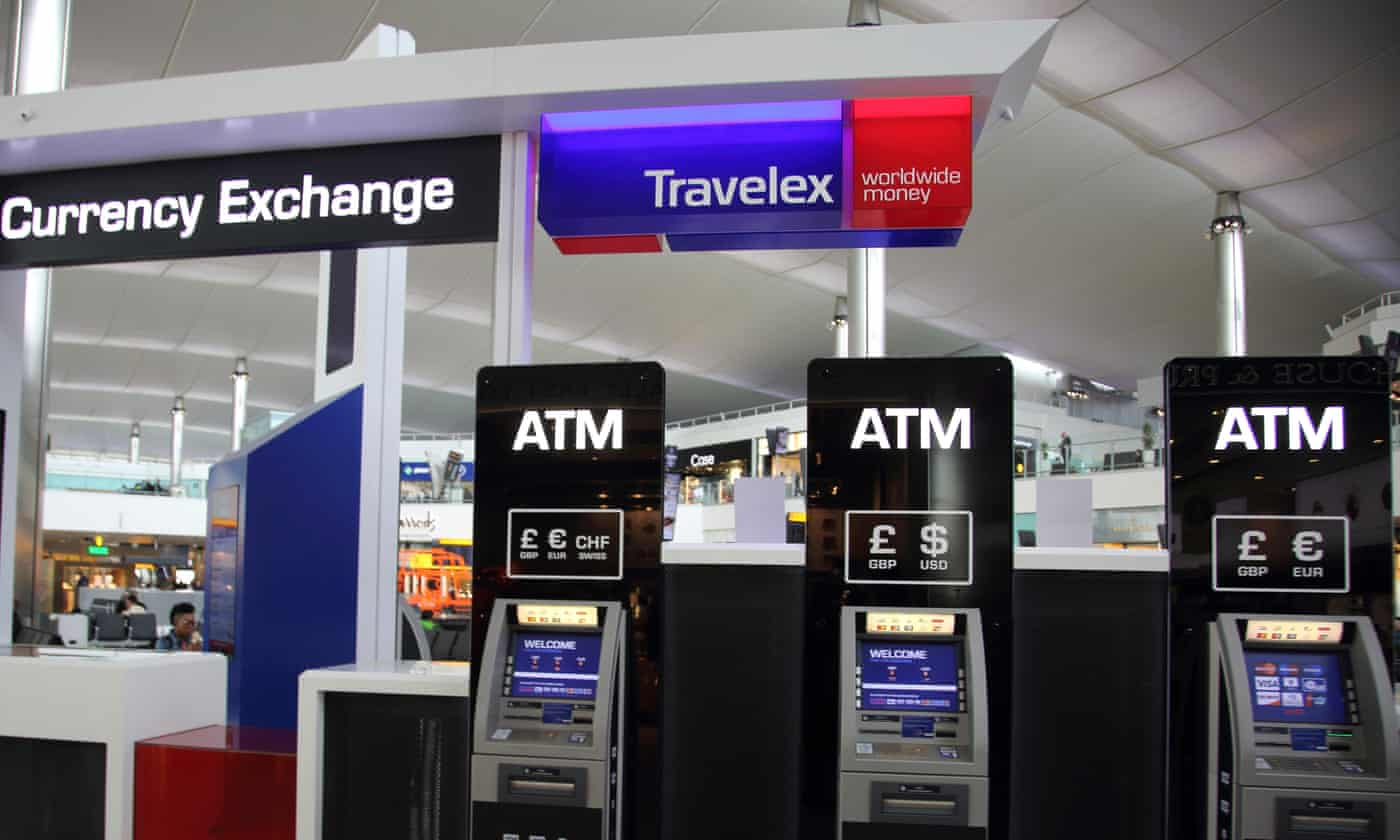 Travelex ATM's phantom payout was out of order