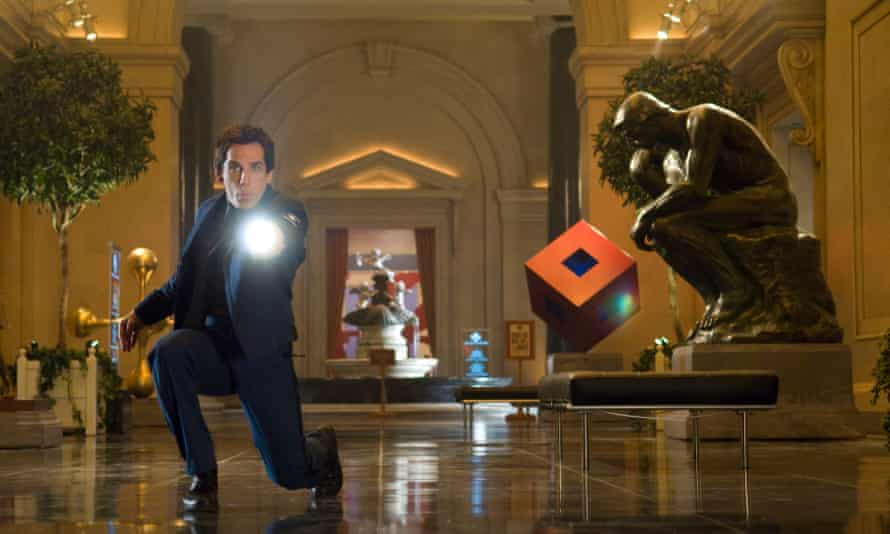 Ben Stiller in Night at the Museum 2. The films are based on the picture book of the same name by Milan Trenc.