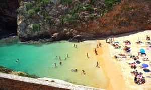 Beach of berlenga island
