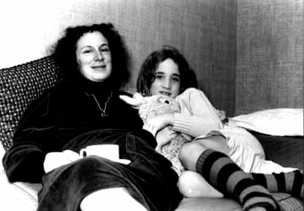 Atwood and her daughter Jess in 1982.