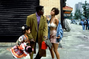 Wesley Snipes and Halle Berry in Jungle Fever