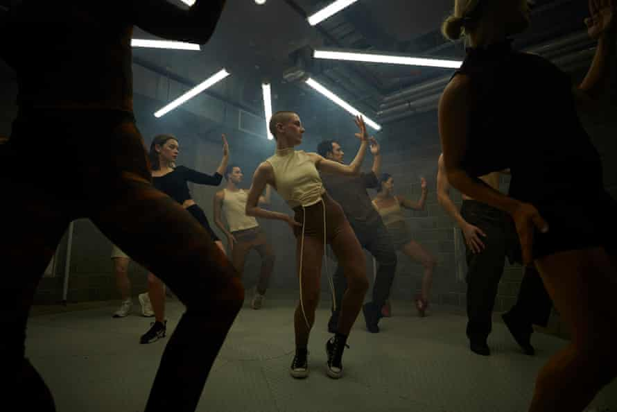 The Sydney Dance Company's new work Touch was filmed in Sydney's new performance space Phoenix.