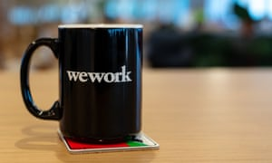 The WeWork UK HQ at Waterloo, London, has a barista dispensing free coffee all day long.