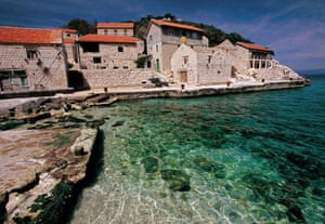 Lastovo town, Croatia, a place of ornate chimneys and evocative ruins