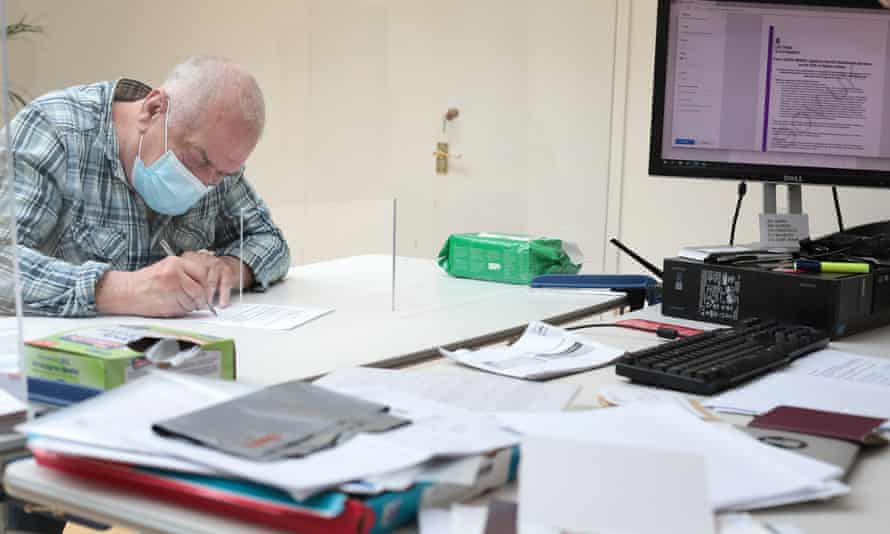Gino Germoni, 70, has lived in London for over 60 years getting help from INCA ggil, Italian advice centre in London to help with his settled status application