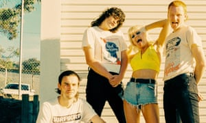 Fun, but limited … Amyl and the Sniffers.