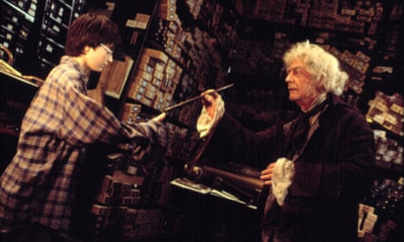 'The curses and spells used in the books are actual curses and spells' … the 2001 film of Harry Potter and the Philosopher's Stone.