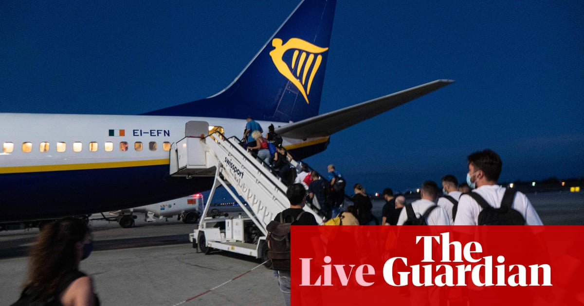 Air travel recovery boosts Ryanair and Melrose; UK gym visits rise – business live