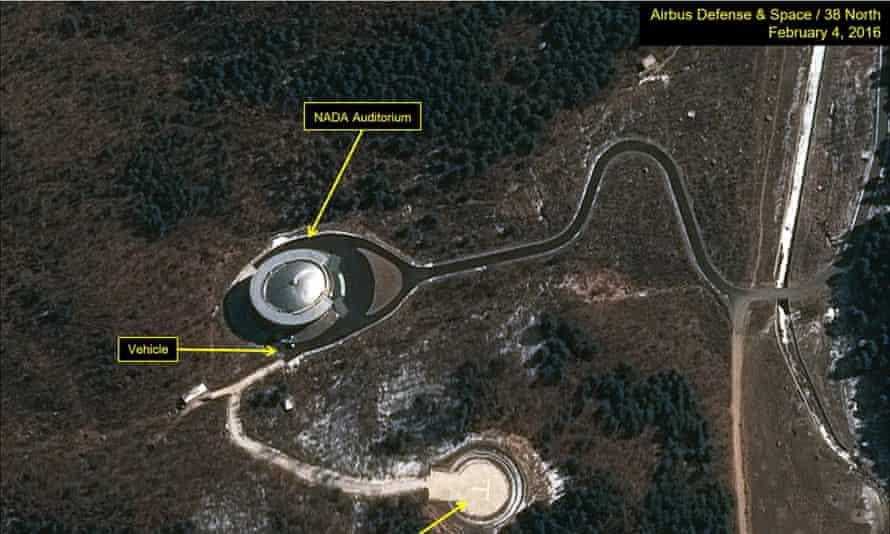 Sohae Satellite Launching Station North Korea rocket