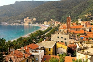 Riviera retreat: Noli, on the Ligurian coast.