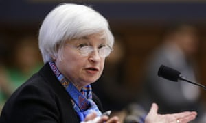 Federal Reserve chair Janet Yellen.