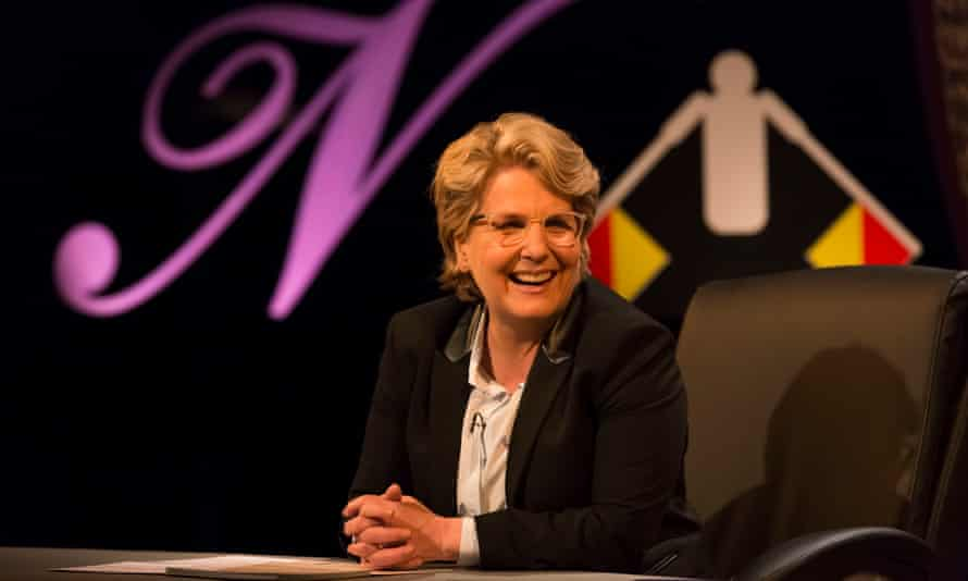 Toksvig hit the perfect balance between warmth and detachment.