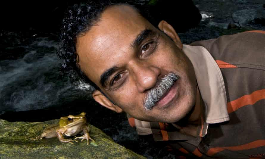 Sathyabhama Das Biju is considered the 'frogman of India', after making more than 100 discoveries of new species