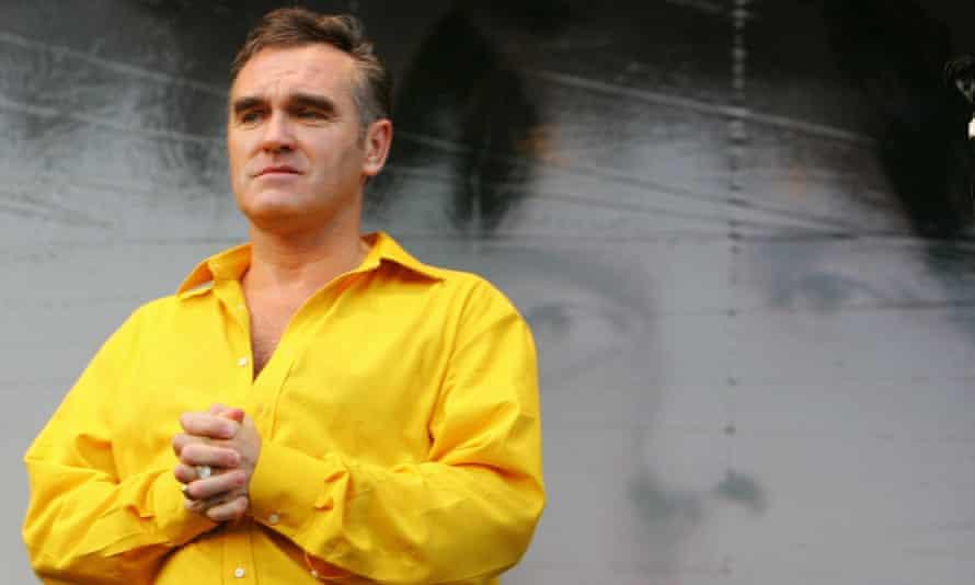 British singer Morrissey