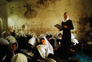 Herat state school for girls: 'Even if they graduate, the world outside is still largely defined and controlled by men.'
