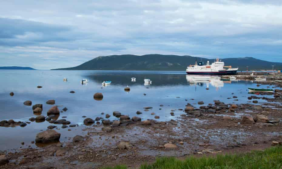 Hamilton inlet in Rigolet, Labrador, Canada. 'The methylmercury is going to come down the river and into our food chain and the fish and the seals won't be fit to eat.'