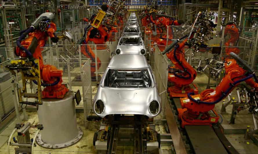 Mini production line in Oxford