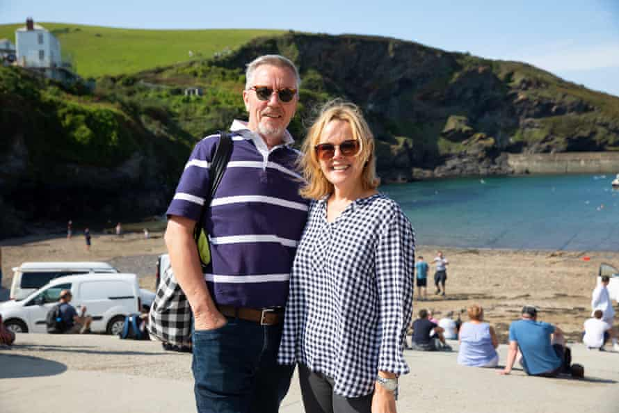 Kevin and Dorothy Tong, from Scotland. They attended one of Dave Morgan's Doc Martin tours.