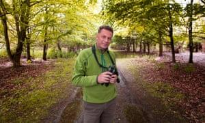 BBC Springwatch presenter Chris Packham
