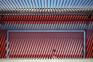 The Architecture award went to Jian Wang from Beijing, China for a picture taken in the Olympic Park there