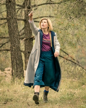 The Doctor in Demons of the Punjab