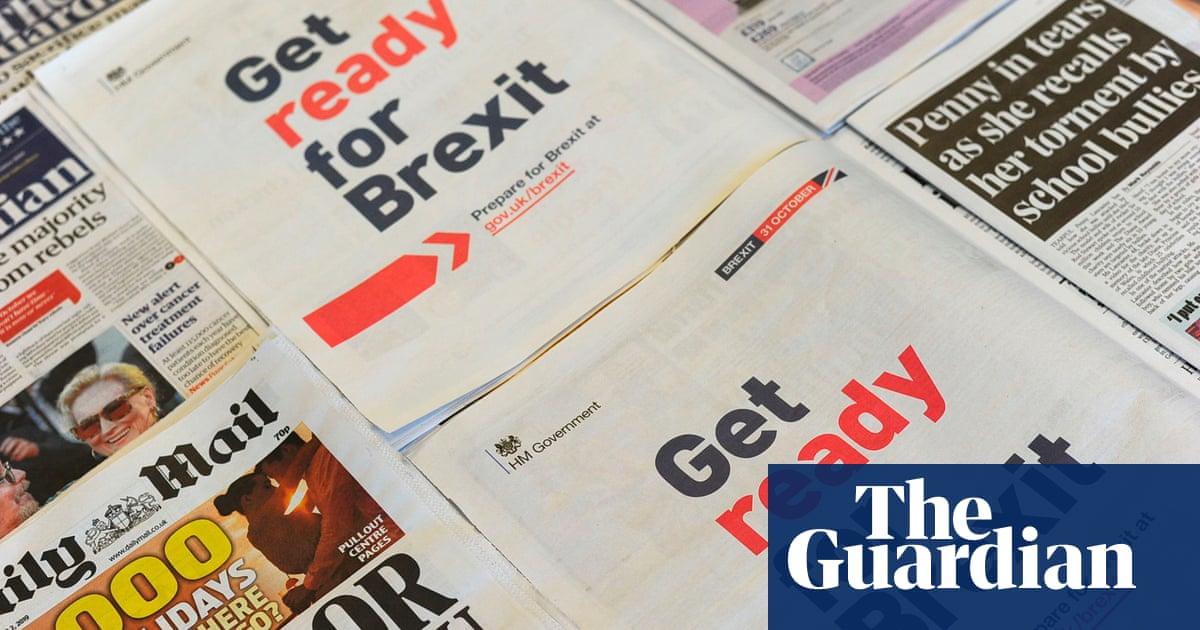 MPs condemn misleading no-deal Brexit publicity campaign