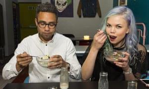 Customers at the Cereal Killer Cafe in Camden , north London. 'It is the establishment that now sees the hipster as the embodiment of autonomous, small-scale capitalist expansionism.'