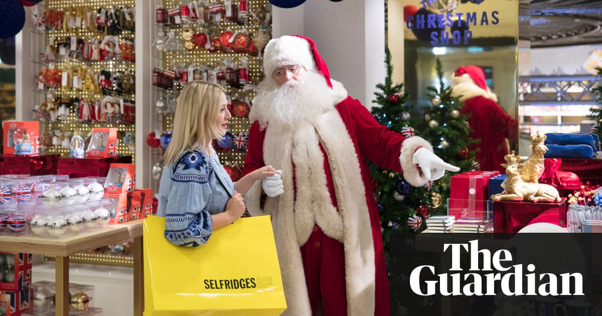 Jingle bells in july as selfridges opens christmas shop 147 days selfridges christmas shop negle Image collections