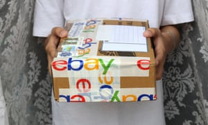 An eBay delivery … but is it to the correct address?