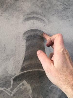 Lighthouse shape smudge