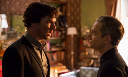 'Go to hell' … Sherlock must put himself in danger so John will be forced to help him.