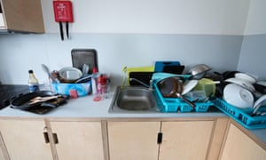 The joys of a shared kitchen …
