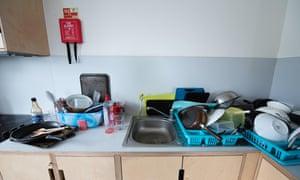 Student shared kitchen