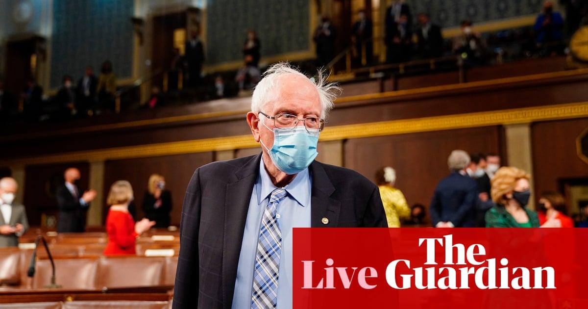 Bernie Sanders brings resolution to halt $735m US arms sale to Israel – live