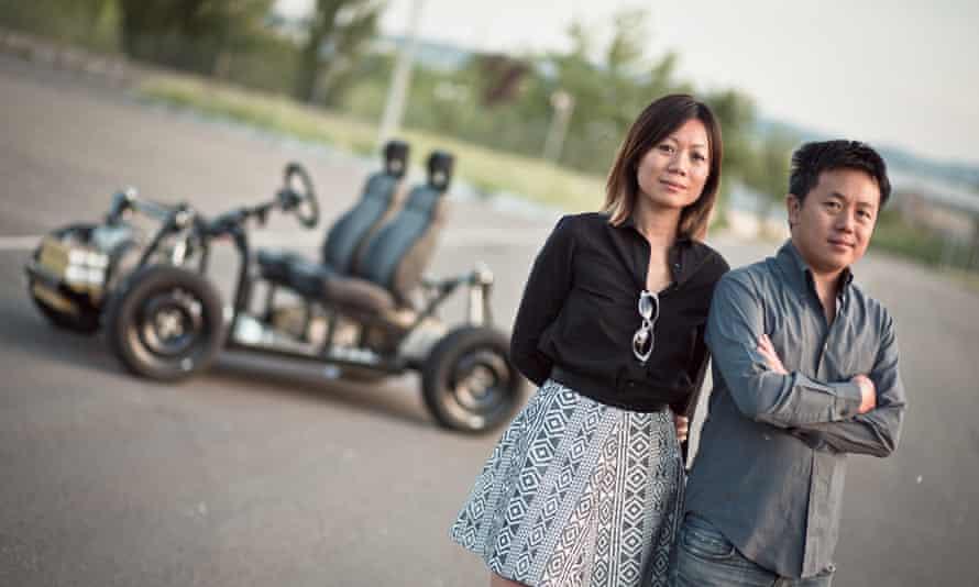 OSVehicle's CEO Yuki Liu, with her brother Tin Hang Liu