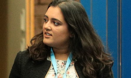 Sonia Khan pictured at the Conservative party annual conference in Birmingham in 2019.