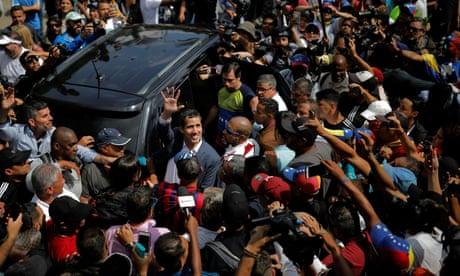EU countries recognise Juan Guaidó as interim Venezuelan leader