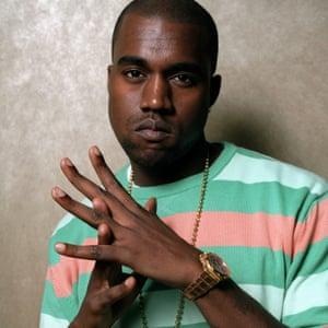 Sharp … Kanye West.