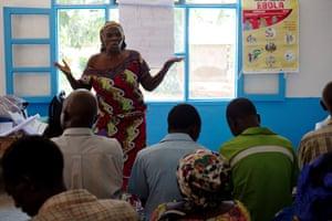 Ebola survivor Agwandia Jermanine