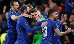 Chelsea's Kepa Arrizabalaga
