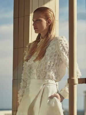 Shirt, £235, See by Chloé net-a-porter.com Skirt, £69, cosstores.com