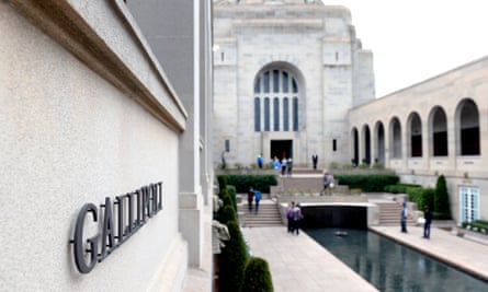 The Australian War Memorial in Canberra on Friday.