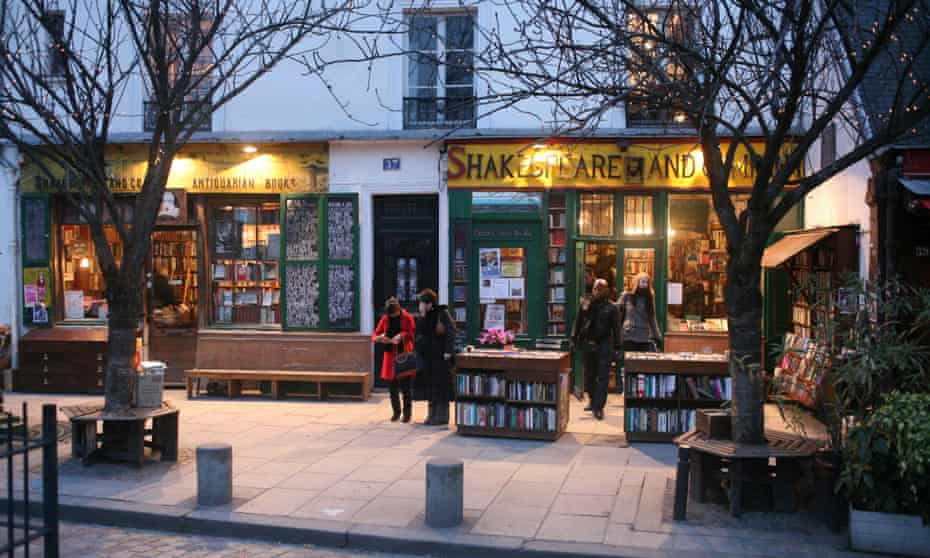 Shakespeare and Co. Bookstore, Paris.