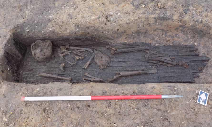 Burial site found in Norfolk