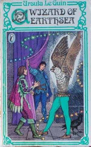 Ursula K Le Guin book jacket