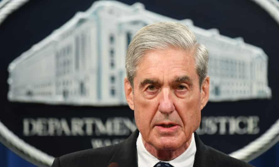 Robert Mueller speaks on the investigation into Russian interference in the 2016 presidential election in May 2019.